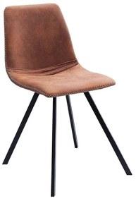 Scaun dining maro Chair Amsterdam Retro Vintage Light Brown