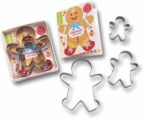 Set 3 forme pentru tăiat aluatul Cooksmart ® Gingerbread