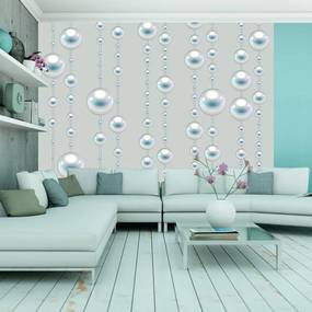 Tapet - Strings of snow pearls role 50x1000 cm