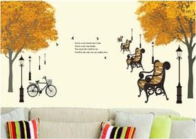 Sticker perete Autumn in the park