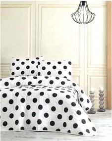 Set cuvertură pentru pat single și față de pernă Jamon, 160 x 220 cm