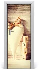 Autocolante pentru usi Auto-adeziv ușă dragoste