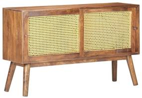 323397 vidaXL Servantă, 112 x 30 x 65 cm, lemn masiv de mango