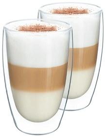 Pahar pentru caffé latte, 2 buc., 450 ml, HOTCOOL TYP 2