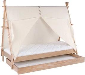 Sertar din lemn de pin pentru patul de copii BLN Kids Apache