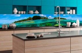 Fototapet autoadeziv pentru bucătărie recif de corali