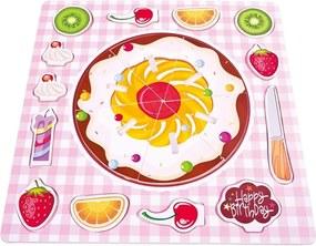 Puzzle Bino Plăcintă cu fructe