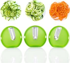 Feliator legume în formă de spirală 3 în 1 InnovaGoods