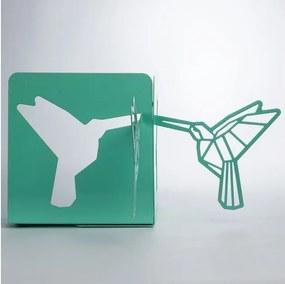 Suport metalic pentru cărți Just Mustard Origami