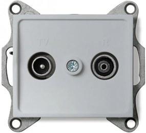 Kanlux Logi 25219 Conector priză argintiu