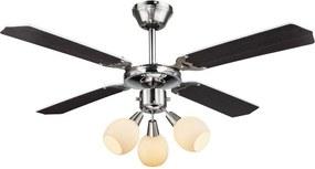 GLOBO 03350 - Ventilator pentru tavan REDONA 3xE14/40W/230V