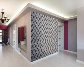 Fototapet - Studded Metal Tapet non-țesute 300x240 cm Fototapete pe perete Lucios