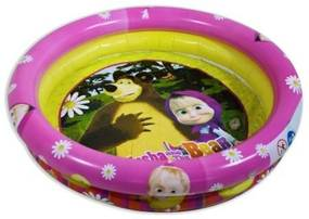 Piscina gonflabila Masha and The Bear, 90 cm