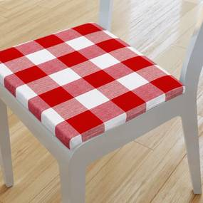Goldea pernă pentru scaun 38x38 cm - kanafas - model 075 38 x 38 cm