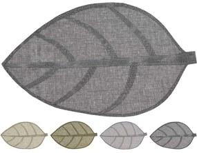 PLACEMAT FORMA FRUNZA, 50X33 CM, HARTIE, DISPONIBIL IN 4 CULORI