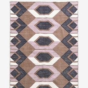 Covor ART din Bumbac - Bumbac Mustar Diametru (90x213 cm)