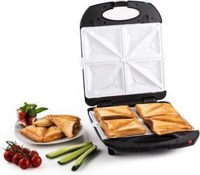 Klarstein Trinity 3in1 Sandwich Maker XXL 1300 W negru