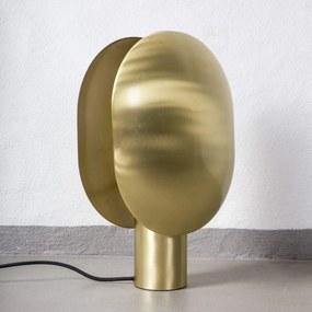 Lampa de Masa din Alama CLAM - Alama Auriu Latime(30 cm) x Inaltime( 43.5 cm)