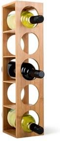 Klarstein Rack No. 3, raft din bambus pentru vin, poate fi stivuit