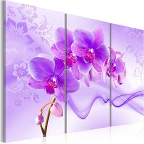 Tablou - Ethereal orchid - violet 60x40 cm