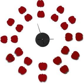Ceas de perete autocolant Mauro Ferretti Apples, ⌀ 75 cm