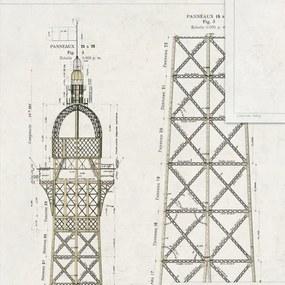 MINDTHEGAP Tapet - Grand Eiffel