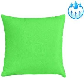 Perna decorativa  pentru balansoar sau sezlong, material impermeabil, 40x40cm, culoare verde