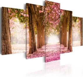 Tablou - Pink alley 100x50 cm