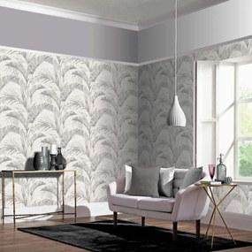 Arthouse Tapet - Banana Palm Banana Palm Chalk Grey