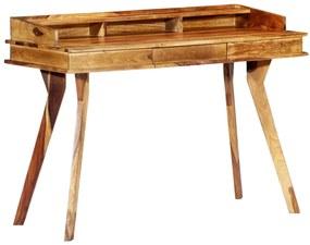248001 vidaXL Birou de scris, 115 x 50 x 85 cm, lemn masiv de sheesham