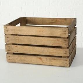 Cutie pentru depozitare, din lemn Lea Natural, L50xl40xH30 cm