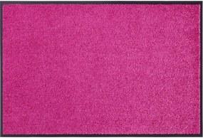 Covoras Intrare Unicolor Wash & Clean, Roz, 40x60