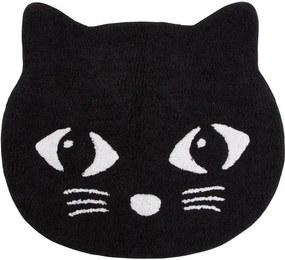 Covoraș decorativ Black Cat, bumbac