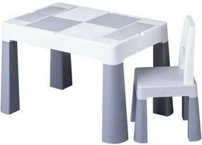 Tega - Set masuta cu scaun  Lego Multifun Gri