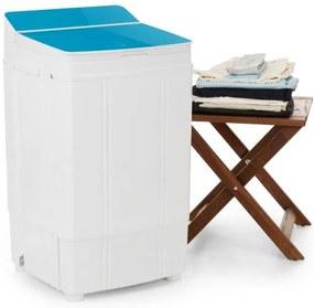 OneConcept Ecowash Deluxe mașină de spălat, 290W, 4 kg, timer,funcție de centrifugare,culoare albastru