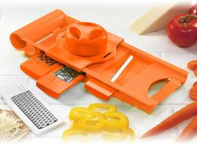 Razatoare multifunctionala 5in1 Culinaria, BANQUET portocalie