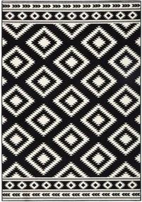 Covor Hanse Home Gloria Ethno, 120 x 170 cm, negru