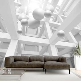 Fototapet Bimago - White Enclave + Adeziv gratuit 250x175 cm