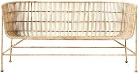 Canapea COON NATURE - Ratan Natur Lungime(70 cm) x latime(65.6 cm) x Inaltime(70 cm) x Inaltime sezut (36 cm)