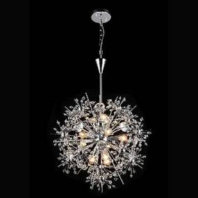Pendul 4xE14 crom cristal Crys Kelektron 20 3 06 000 00 272