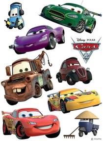 Disney Cars- autocolant de perete 30x30 cm
