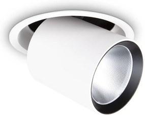 Downlight Incastrat Ideal Lux Nova 30W 4000K Wh Led, Alb, 267951, Italia
