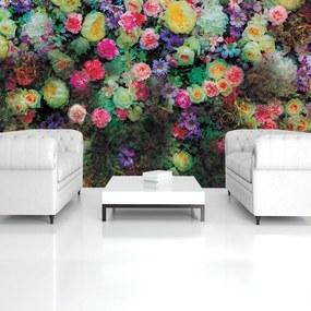 Fototapet - Flori colorate (254x184 cm), în 8 de alte dimensiuni noi
