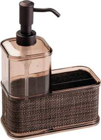 Dozator săpun iDesign Twillo, 532 ml, bronz