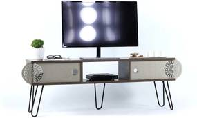 Comoda Tv - Illia Maxi No.2 (Nuc-Negru)