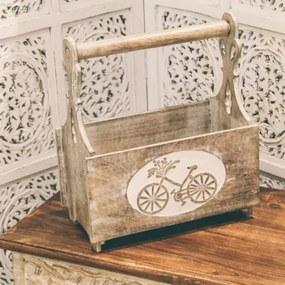 Suport pentru reviste Kashmir din lemn 37x41 cm