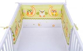 Set 2 aparatoare laterale patut Owls Green 029
