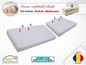 MyKids Set saltele  MyDreams II 120X70X10 50X70X10