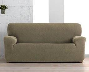 Husa Creta pentru canapea cu trei locuri, maro 180-230 cm
