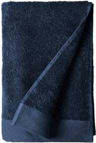 Prosop din bumbac froté Södahl Indigo, 140 x 70 cm, albastru